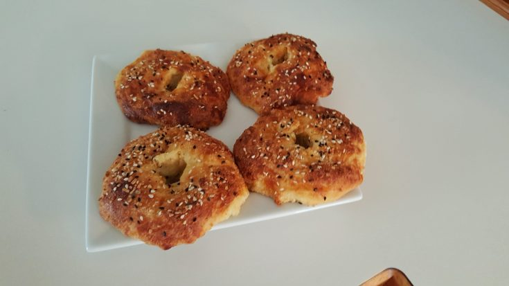 Simple Keto Everything Bagels